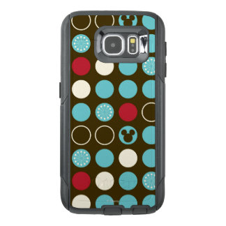 Mickey Mouse | Retro Polka Dot Pattern OtterBox Samsung Galaxy S6 Case