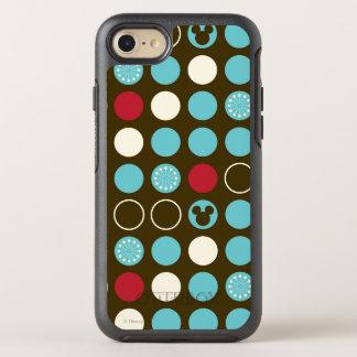 Mickey Mouse   Retro Polka Dot Pattern OtterBox Symmetry iPhone 7 Case