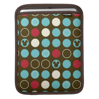 Mickey Mouse | Retro Polka Dot Pattern Sleeve For iPads