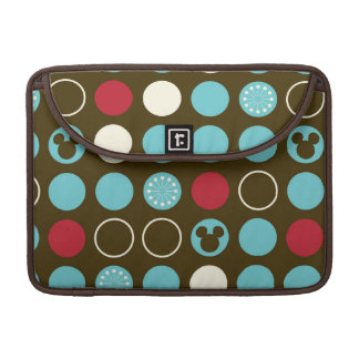 Mickey Mouse | Retro Polka Dot Pattern Sleeve For MacBooks