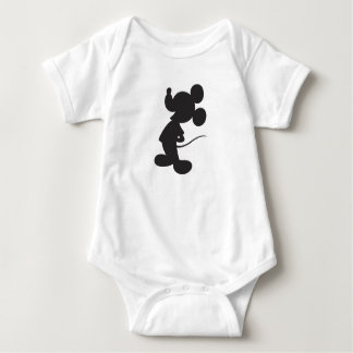 Mickey Mouse Silhouette Baby Bodysuit