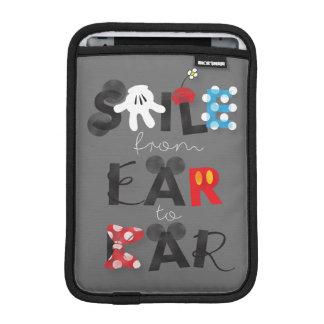 Mickey Mouse | Smile From Ear To Ear iPad Mini Sleeve