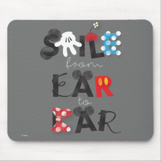 Mickey Mouse | Smile From Ear To Ear Mouse Pad