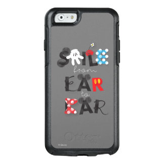 Mickey Mouse | Smile From Ear To Ear OtterBox iPhone 6/6s Case