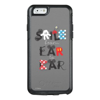 Mickey Mouse | Smile From Ear To Ear Otterbox Iphone 6/6s Case by disney at Zazzle