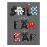 Mickey Mouse   Smile From Ear To Ear Poster
