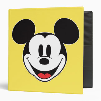 Mickey Mouse Smiling Binder