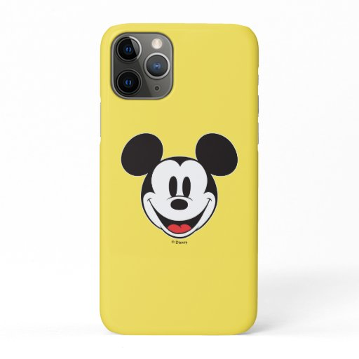 Mickey Mouse Smiling iPhone 11 Pro Case