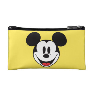 Mickey Mouse Smiling Cosmetic Bag at Zazzle