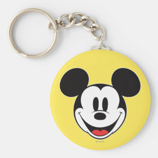 Mickey Mouse Smiling Keychain