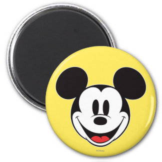 Mickey Mouse Smiling Magnet