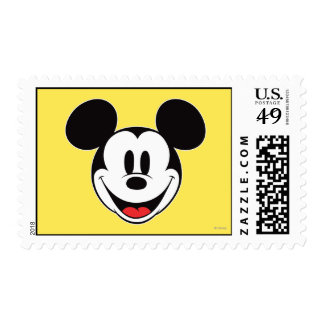 Mickey Mouse Smiling Postage