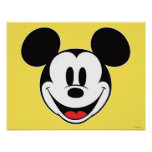Mickey Mouse Smiling Poster