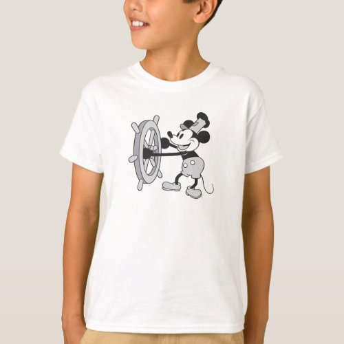 Mickey Mouse Steamboat Captain T_Shirt