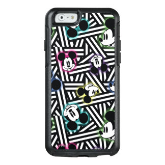 Mickey Mouse   Stripe Pattern OtterBox iPhone 6/6s Case