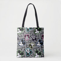 Mickey Mouse | Stripe Pattern Tote Bag