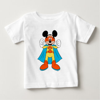 Mickey Mouse | Super Hero Cute Baby T-Shirt