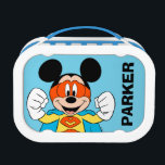 "Mickey Mouse | Super Hero Cute Lunch Box<br><div class=""desc"">Your favorite Disney character,  Mickey is featured in this fun super hero comic inspired graphic.</div>"