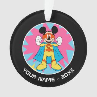 Mickey Mouse   Super Hero Cute Ornament