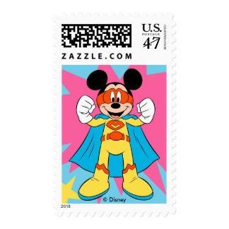 Mickey Mouse | Super Hero Cute Postage