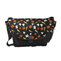 Rickshaw Medium Zero Messenger Bag with Mickey Mouse Patterns design