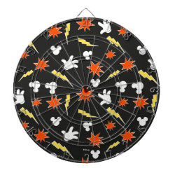 Megal Cage Dart Board with Mickey Mouse Patterns design