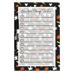 Medium Dry-erase Board with Mickey Mouse Patterns design