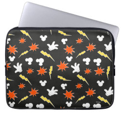 Neoprene Laptop Sleeve 13 inch with Mickey Mouse Patterns design