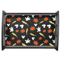 Small Serving Tray with Mickey Mouse Patterns design