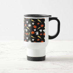 Travel / Commuter Mug with Mickey Mouse Patterns design