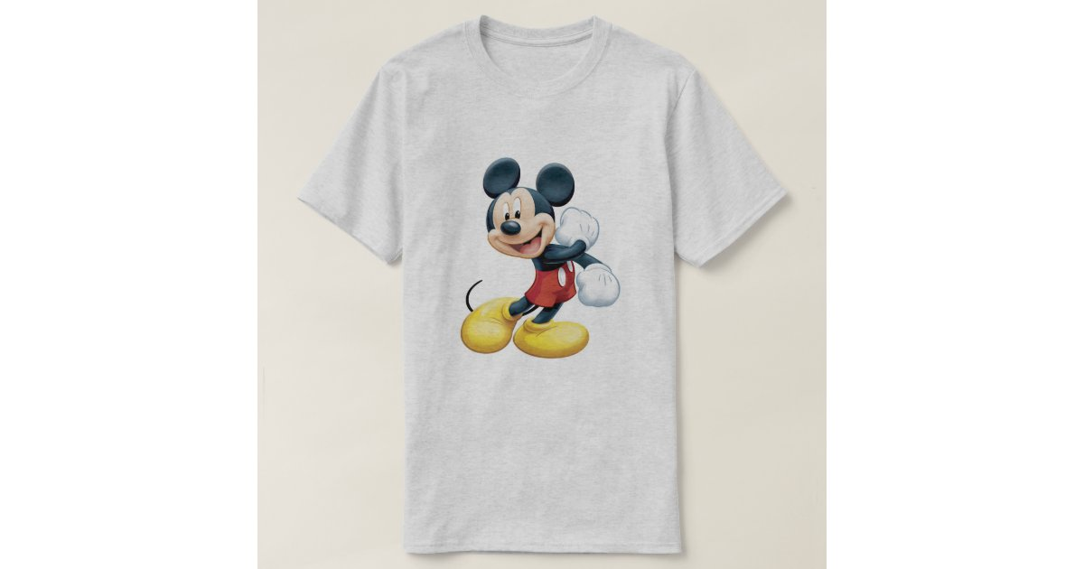 mickey mouse t shirt zazzle. Black Bedroom Furniture Sets. Home Design Ideas