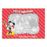 Mickey Mouse: Tarjeta de Feliz Navidad