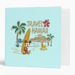 Mickey Mouse Travel Hawaii Binder