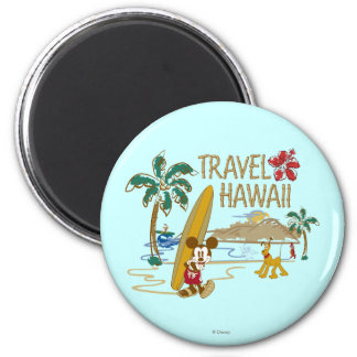 Mickey Mouse Travel Hawaii Magnets
