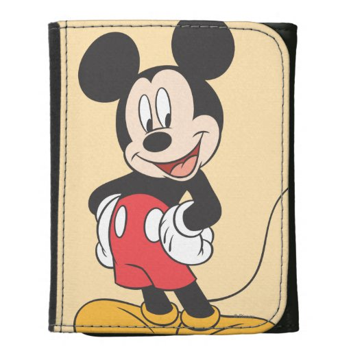 Mickey Mouse Tri-fold Wallet