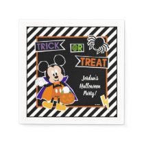 Mickey Mouse | Trick or Treat Halloween Party Napkin