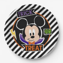 Mickey Mouse | Trick or Treat Halloween Party Paper Plate