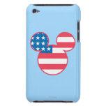 Mickey Mouse USA flag icon iPod Touch Covers