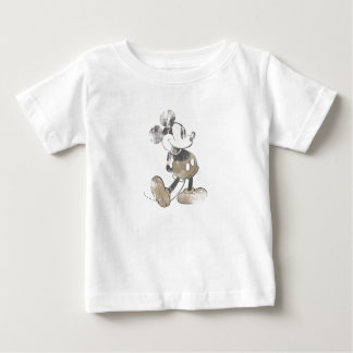 Mickey Mouse Vintage Washout Design Baby T-Shirt