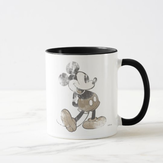 Mickey Mouse Vintage Washout Design Mug