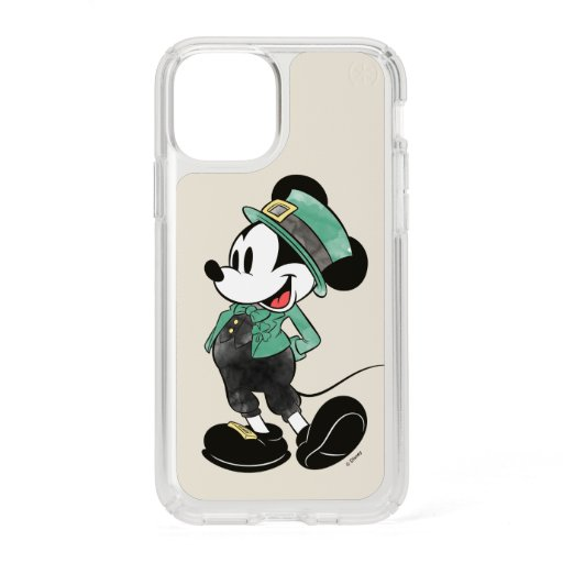 Mickey Mouse | Watercolor St. Patrick's Day Speck iPhone 11 Pro Case