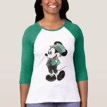 Mickey Mouse | Watercolor St. Patrick's Day T-Shirt