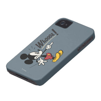 Mickey Mouse - Whooa iPhone 4 Case-Mate Cases