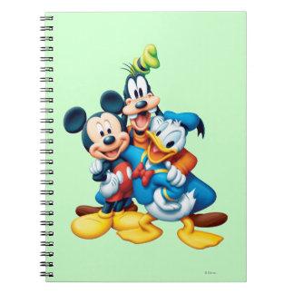 Mickey Mouse y amigos 1 Libreta