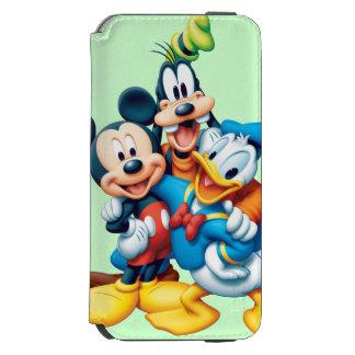 Mickey Mouse y amigos 1 Funda Cartera Para iPhone 6 Watson