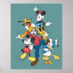 Mickey Mouse y amigos 2 Impresiones