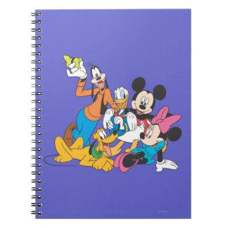 Mickey Mouse y amigos 3 Libretas Espirales