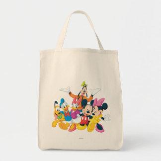 Mickey Mouse y amigos 4 Bolsa Tela Para La Compra