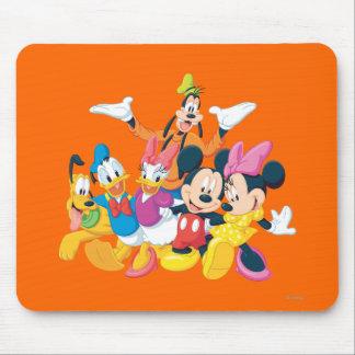 Mickey Mouse y amigos 4 Tapete De Ratón
