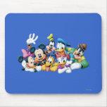 Mickey Mouse y amigos 5 Alfombrilla De Raton